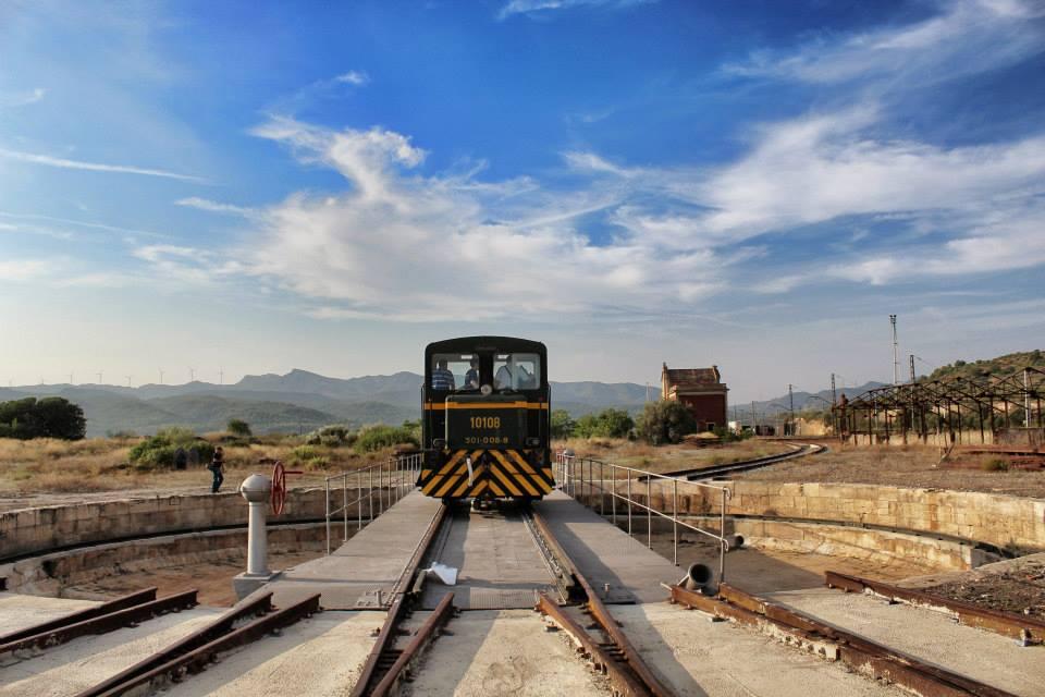 pont giratori centre del ferrocarril de mora la nova